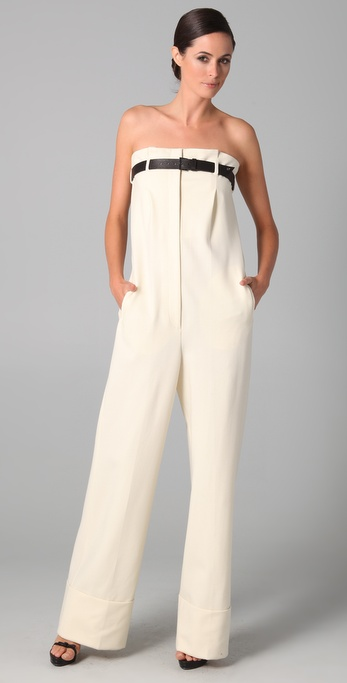 VIKTOR & ROLF Top Belt Jumpsuit