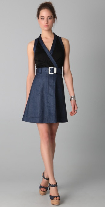VIKTOR & ROLF Belted Wrap Dress
