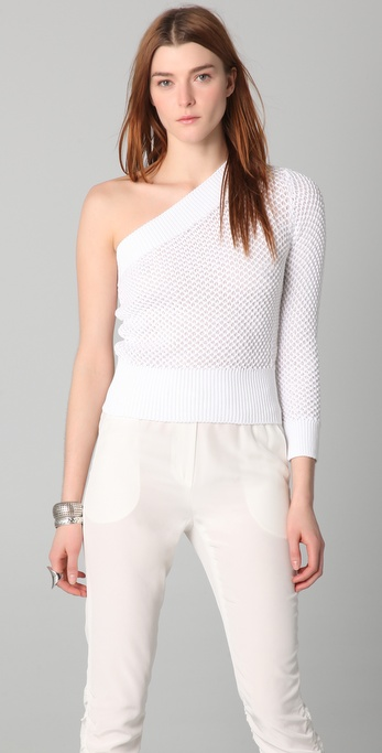 VIKTOR & ROLF One Shoulder Sweater