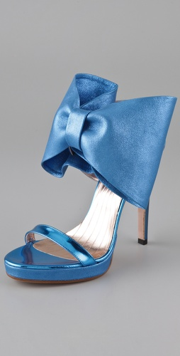 VIKTOR & ROLF High Heel Bow Sandals