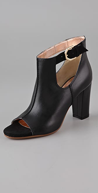 VIKTOR & ROLF Open Toe High Heel Booties