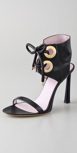 VIKTOR & ROLF Lace Up High Heel Sandals