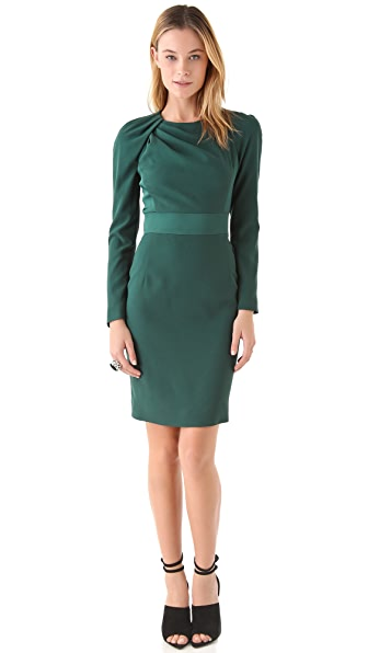 VIKTOR & ROLF Long Sleeve Sheath Dress