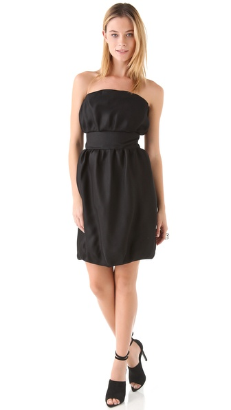VIKTOR & ROLF Strapless Cocktail Dress