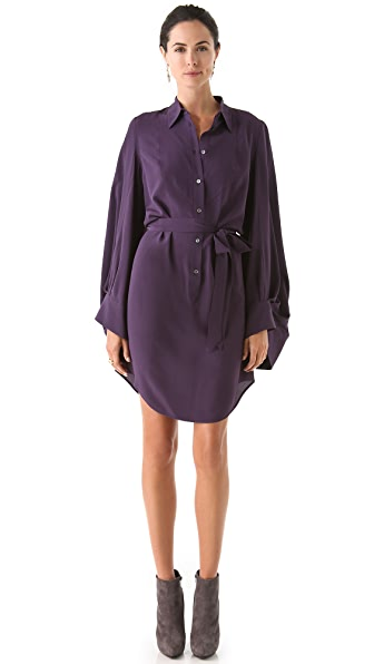 VIKTOR & ROLF Full Sleeve Shirtdress