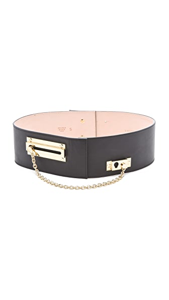 VIKTOR & ROLF Lock & Chain Belt