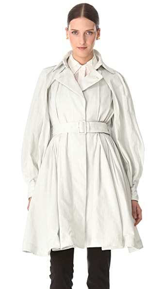 VIKTOR & ROLF Seersucker Trench Coat
