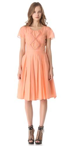 VIKTOR & ROLF Short Sleeve Dress