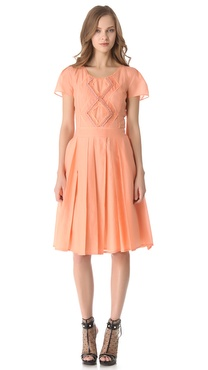 VIKTOR & ROLF Short Sleeve Dress