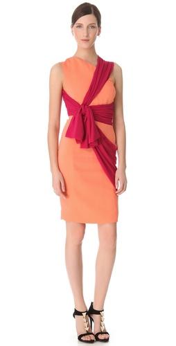 VIKTOR & ROLF Structured Crepe Dress