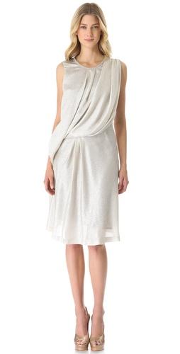 VIKTOR & ROLF Sleeveless Drape Dress