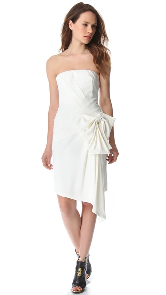 VIKTOR & ROLF Strapless Bow Dress