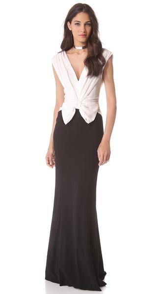 VIKTOR & ROLF Bow Sleeveless Gown