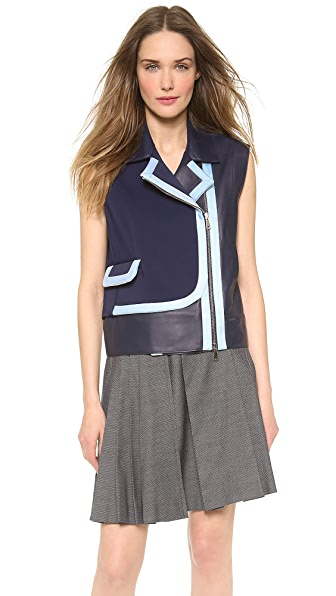 VIKTOR & ROLF Leather Vest