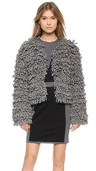VIKTOR & ROLF Alpaca Boucle Coat