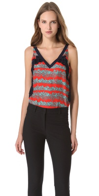 Veronica Beard The Lace Tank