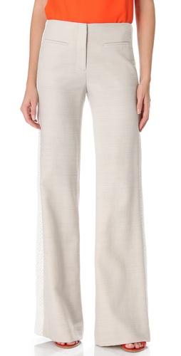 Veronica Beard Wide Leg Trousers