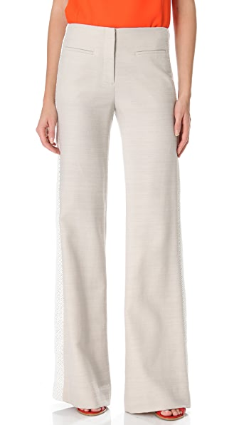 Veronica Beard Wide Leg Trousers