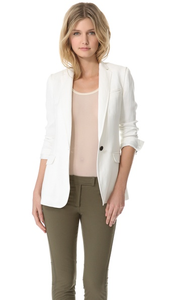Veronica Beard The 2-in-1 Long & Lean Blazer