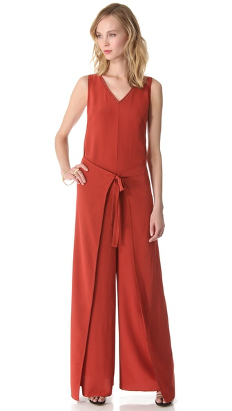 Veronica Beard The Tie Waist Jumpsuit