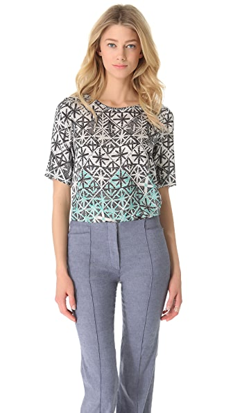 Veronica Beard The Shirttail Tee