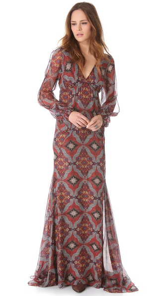 Veronica Beard Long Sleeve Dress