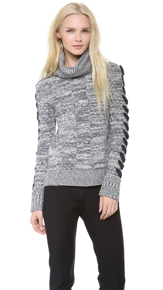 Veronica Beard Wool Turtleneck Sweater