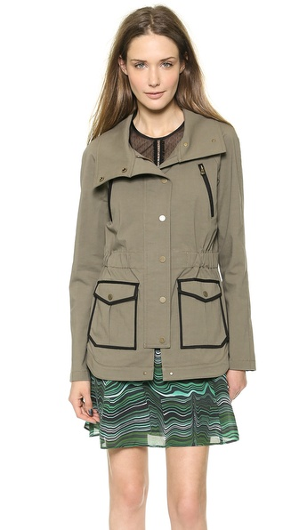 Veronica Beard Military Jacket