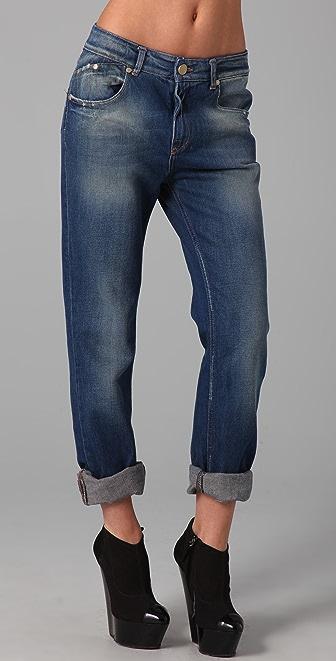 Victoria Beckham Slim Boyfriend Jeans