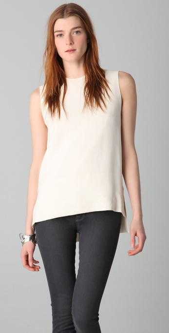Victoria Beckham Clean Shift Blouse