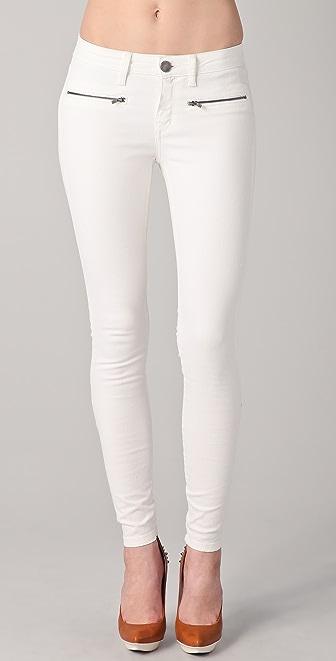 Victoria Beckham Twist Ankle Zip Jeans