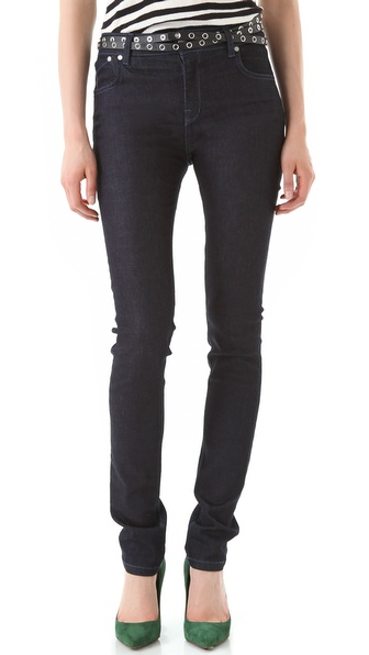 Victoria Beckham High Waist Skinny Jeans