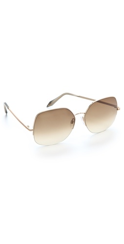 Victoria Beckham Fine Metal Sunglasses