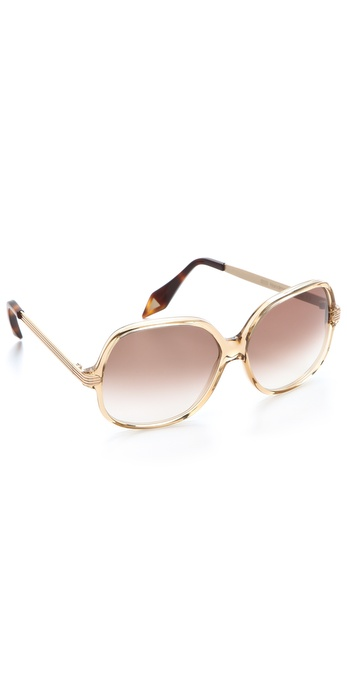 Victoria Beckham Acetate Butterfly Sunglasses