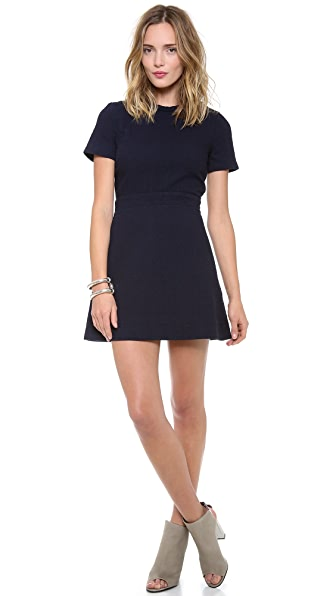 Victoria Beckham Quilted Dress