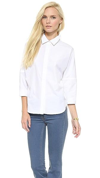 Victoria Beckham Victoria Beckham Balloon Sleeve Shirt (White)