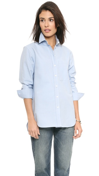 Victoria Beckham One Pocket Man's Shirt