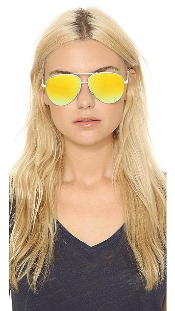 Victoria Beckham 时尚飞行员太阳镜