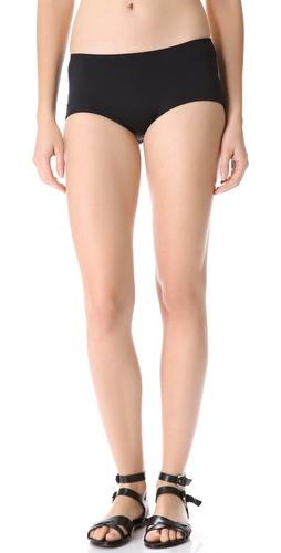 Veronica Brett Boy Shorts Bikini Bottoms