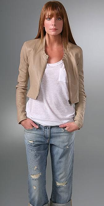 VEDA Alexander Leather Jacket