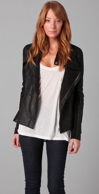 VEDA Stevie Leather Jacket