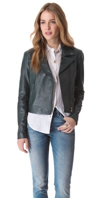 VEDA Jewel Leather Jacket