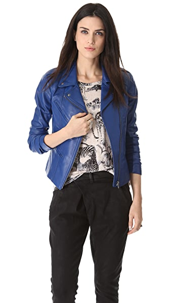 VEDA Topaz Leather Jacket