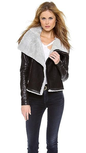 VEDA Mania Shearling Jacket