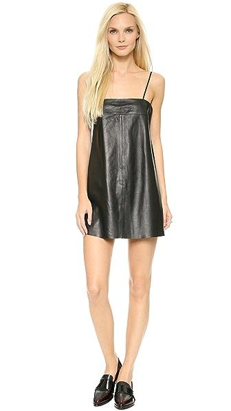 VEDA Pixie Leather Dress
