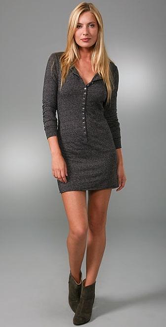 Velvet Aria Long Sleeve Tunic Dress