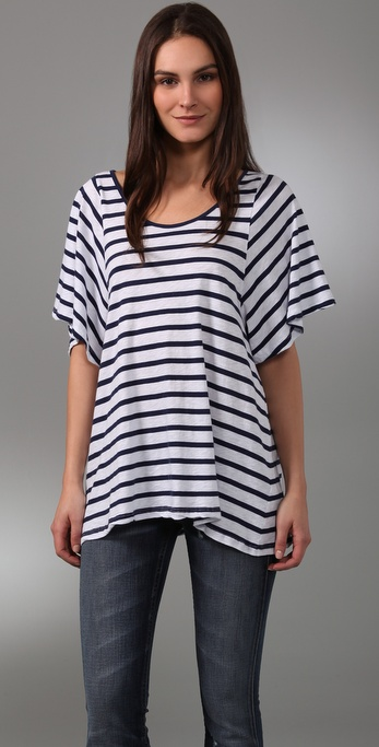 Velvet Maldives Stripe Deanna Top