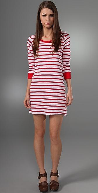 Velvet Maldives Stripe Ivonne Dress