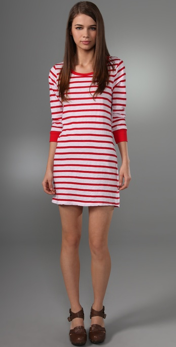 Velvet Maldives Stripe Ivonne Dress