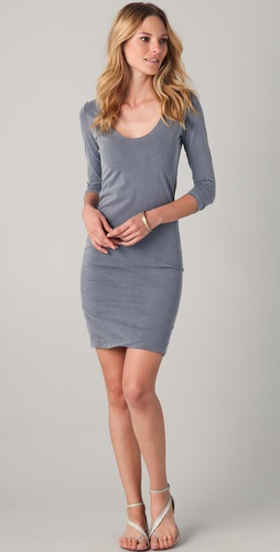 Velvet Rhondi 3/4 Sleeve Dress
